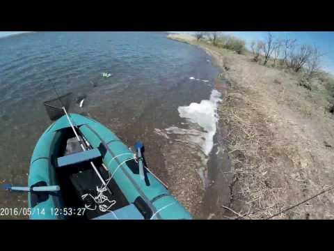 Жор щуки на канале Иртыш-Караганда