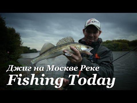 Как ловить джигом на Москве Реке - Fishing Today