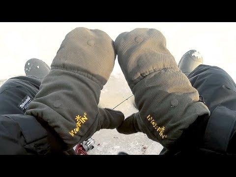 Варежки - перчатки для зимней рыбалки. Мечта любого рыбака.