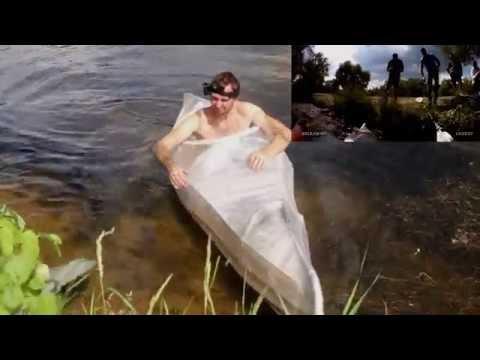 Байдарка своими руками из пленки, скотча и пластиковых труб - Homemade stretch wrap kayak