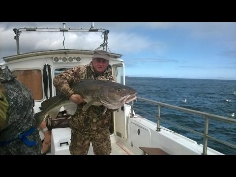 Рыбалка в Мурманске - Треска 22 Кг