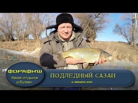 Ловля сазана зимой с кормушкой на мормышку.увлекательное видео!