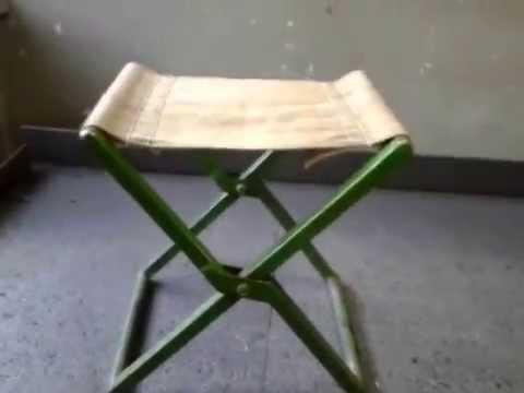 Мой самодельный складной рыбацкий стул