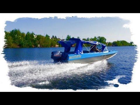 Ямаха 40 Yamaha 40 (VEOS XWS) Казанка 5М3 5М4 река Урал (Заводской пруд) г. Магнитогорск