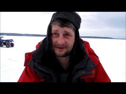 Ловля судака зимой, часть 1