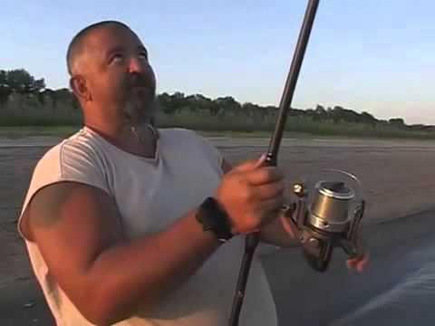 Ловля сазана на реке Нижняя Волга часть 1