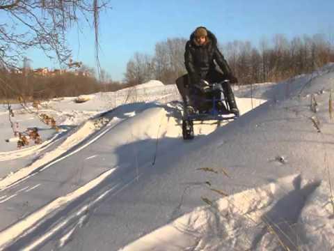 Мини-снегоход «Хаски». 2011