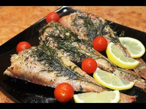 Рецепт: Запеченный Морской Окунь =)