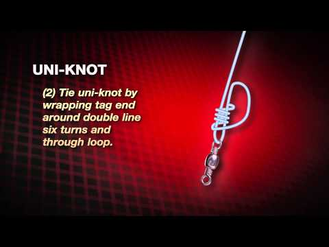 How to tie a Uni-Knot (AKA Hangman's Knot) by Abu Garcia