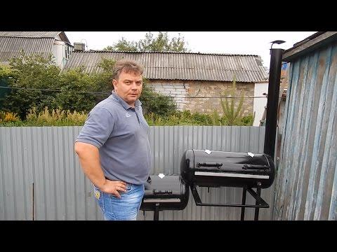 мангал-коптильня из газовых баллонов (полная инструкция по изготовлению)