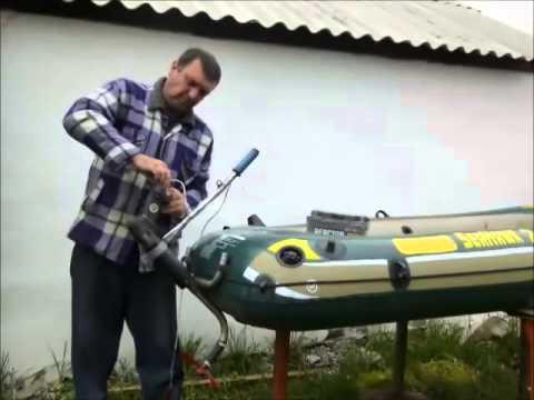 Супер электродвигатель для лодки своими руками2