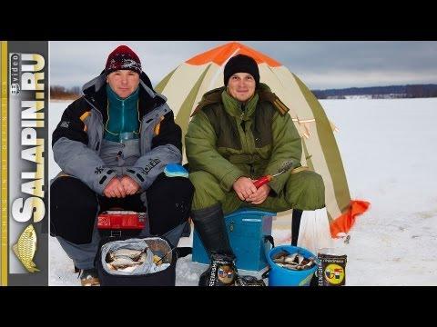 Ловля плотвы зимой на глубинах 4-7 метров [salapinru]