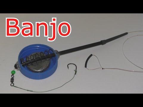 "Как сделать кормушку ""Banjo"" для илистого дна? Монтаж in- line. My fishing."