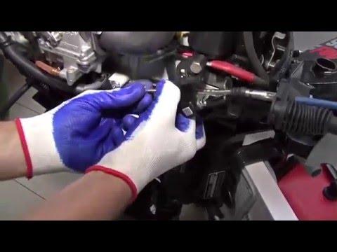 Как подключить дистанционное управление лодочным мотором