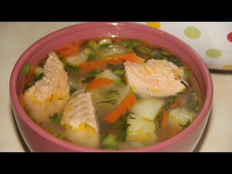 Уха из горбуши / рыбный суп
