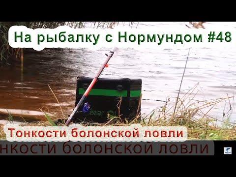 Тонкости болонской ловли : На рыбалку с Нормундом #48