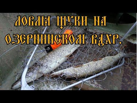 Рыбалка на Озернинском вдх. (спиннинг, джиг)