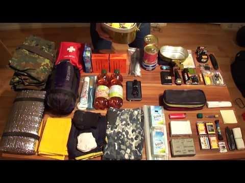 Тревожный чемоданчик (куртка, рюкзак и сумка выживания)