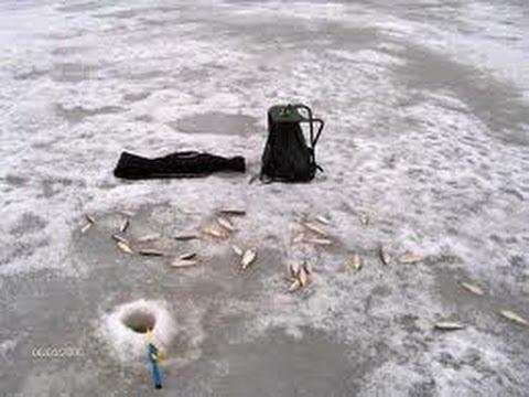 Мой рюкзак и снаряжение для зимней рыбалки