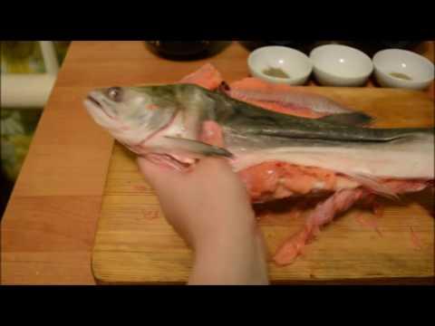 Рыба фаршированная горбуша