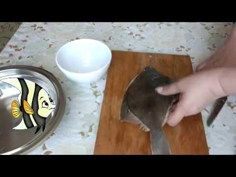 Разделка рыбы Камбала
