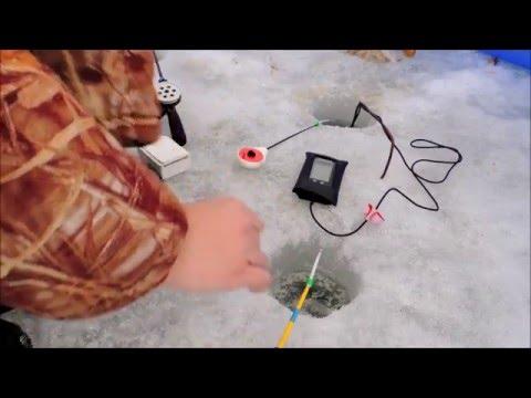 Зимняя ловля чебака