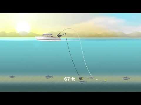 Даунриггер для рыбалки троллингом