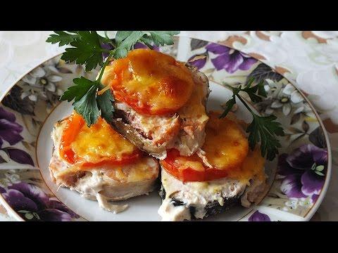 Новогодние рецептыГорбуша запеченная в духовке с сыром простой рецепт вкусно и красиво