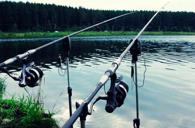 Поплавочная удочка для ловли дальним забросом