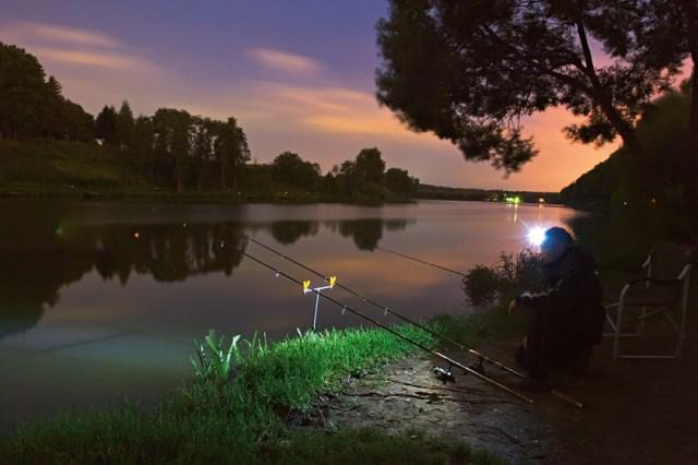 рыбалка ночью на донку