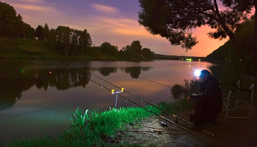 Ловля ночью на фидер