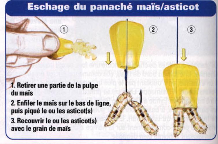 Как насадить кукурузу на крючок разными способами