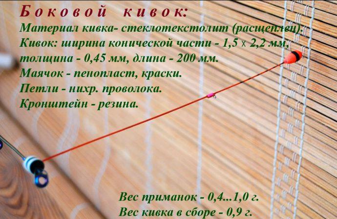 Изготовление летнего бокового кивка