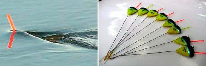 Какой поплавок купить для ловли рыбы на течении