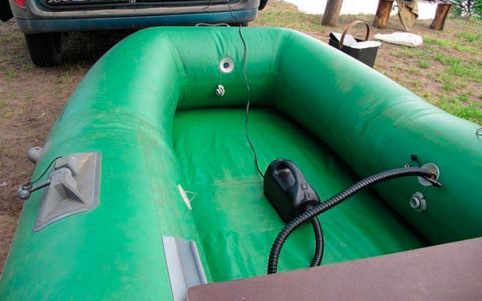 Как выбрать электрический насос для лодки ПВХ