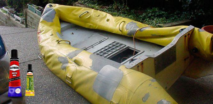 Ремонт резиновой лодки своими руками
