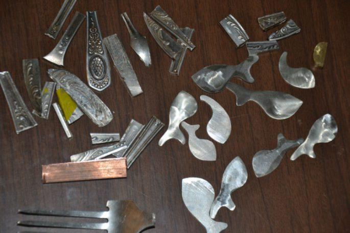 Подготовка самодельной блесны из трубки и техника ловли