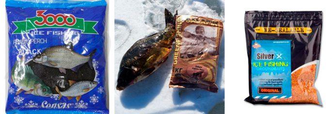 Топ 5 прикормов для зимней рыбалки