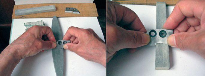 Как правильно заточить ножи