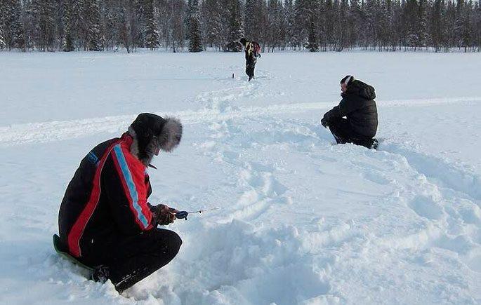 Техника и тактика зимней ловли сига
