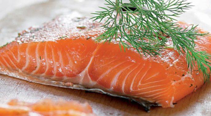 Полезные свойства соленого лосося