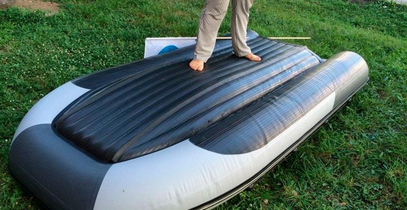 Выбор лодки ПВХ с надувным дном под мотор
