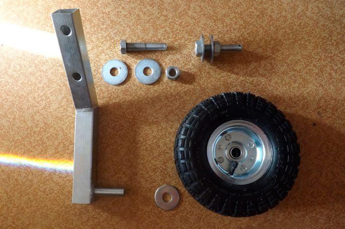 Изготовление транцевых колес своими руками