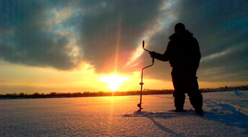 Рыбалка в Тверской области зимой