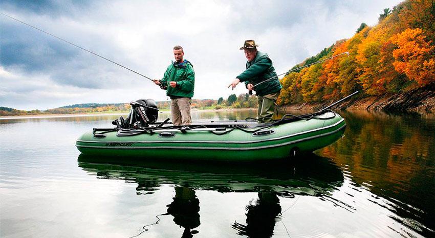 Надувные лодки для рыбалки