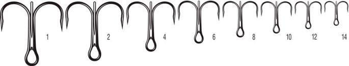 Тройные крючки на судака