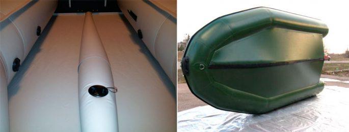 Лодки с надувным килем