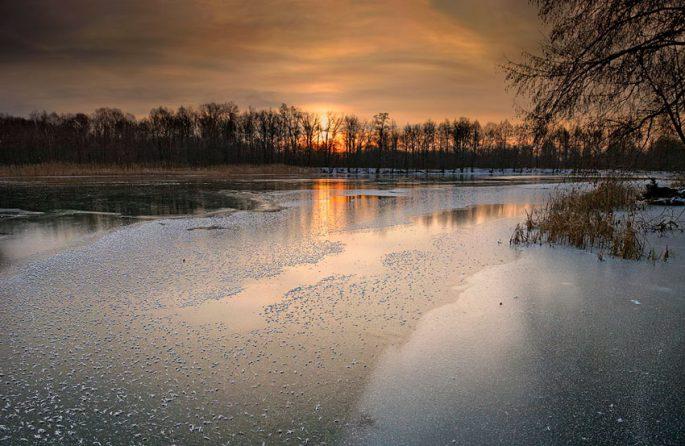 Безопасная толщина льда для рыбалки