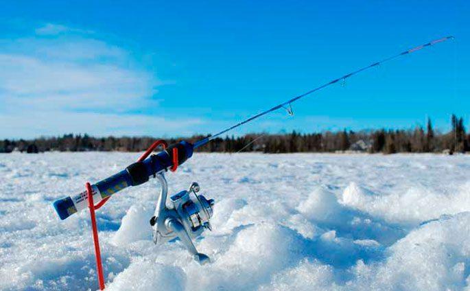 Зимняя рыбалка в Карагандинской области