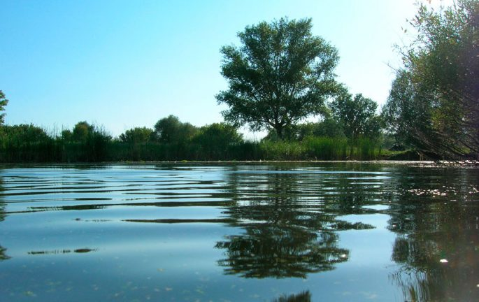 Озеро Склюиха